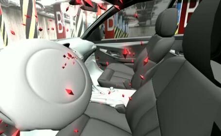 explozie airbag