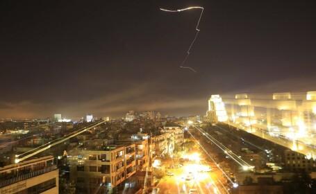 Ţintele lovite de atacul asupra Siriei. Regimul al-Assad afirmă că sunt doar civili răniţi