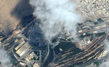 Imagini din satelit. Cum arată clădirile din Siria atacate de SUA, Marea Britanie și Franța, înainte și după bombardament