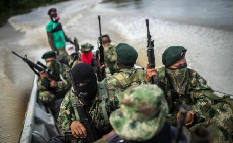 luptatori de gherila din Columbia