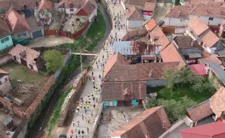 """Cursă cu obstacole, la Sibiu: """"Cei de pe traseu mi-au zis stânga, dar trebuia să fac dreapta"""""""