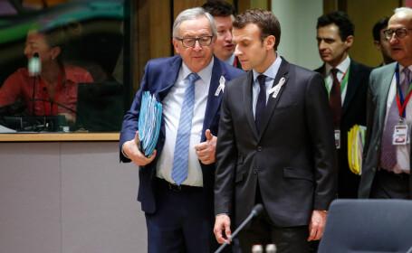 """Juncker către Macron: """"UE nu e doar un club franco-german!"""""""