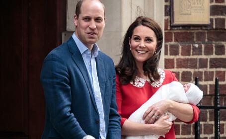 Kate Middleton a născut al treilea copil