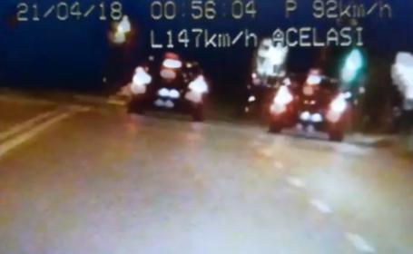 Întrecere între două mașini, pe străzile din București. Dosar penal pentru cei doi șoferi