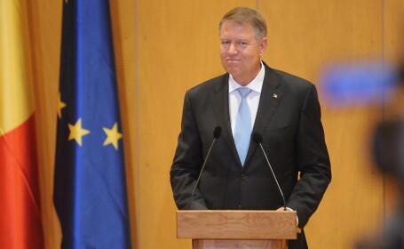Klaus Iohannis efectuează o vizită în Germania, unde va primi premiul \