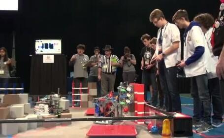 Campionatul Mondial de Robotică din Detroit