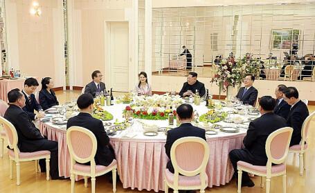 Cina organizată la summitul intercoreean