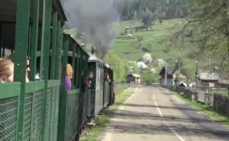 Clipe de coşmar pentru turişti care mergeau cu Mocăniţa. Un localnic băut i-a atacat