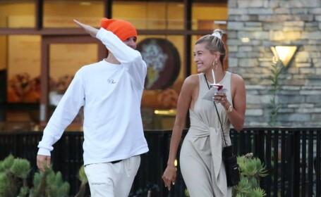 Justin Bieber a fost fotografiat în timp ce-și lovește soția