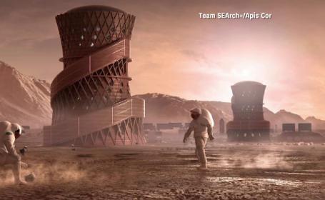 Case construite pe Marte. Cum arată modelele preferate de cei de la NASA