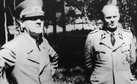 Adolf Hitler si Hans Baur