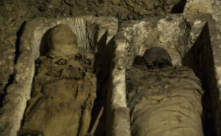Zeci de mumii descoperite într-un mormânt faraonic în Egipt - 1