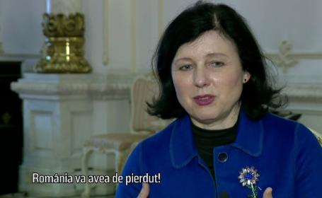 Vera Jourova, comisarul european pentru justitie, protectia consumatorului si egalitate de gen