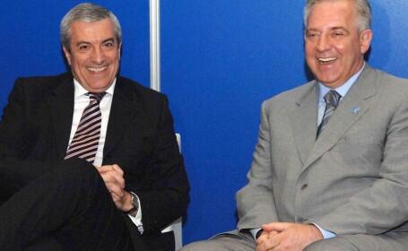 premierul Calin Popescu-Tariceanu si Ivo Sanader, prim-ministrul Croatiei.