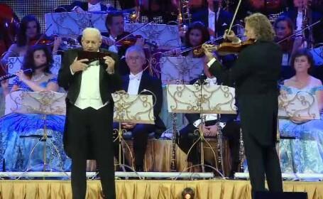 Andre Rieu și Gheorghe Zamfir