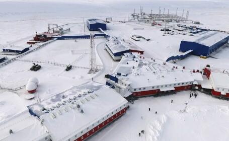 Cum arată baza militară construită de Putin în inima regiunii Arctice. GALERIE FOTO