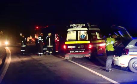 Gestul unui șofer a băgat două persoane în spital. Ce a făcut pe un drum din Timiș