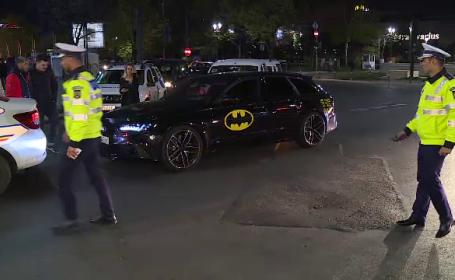Poliţia a dat amenzi pentru maşini şi motociclete zgomotoase. \