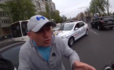 Sofer agresiv in Bucuresti