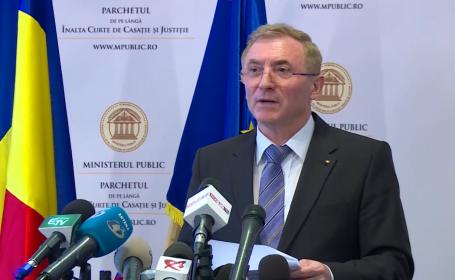 Augustin Lazăr a cerut scuze în numele Parchetului pentru practicile dinainte de 1989