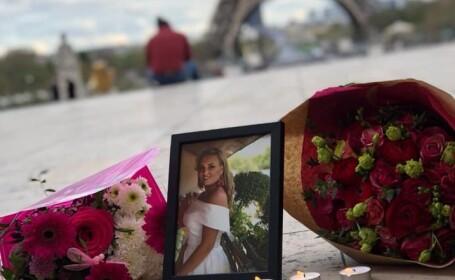 tanara moarta la Paris
