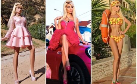 O tanara din Rusia a investit 150000 de euro ca sa devina papusa Barbie