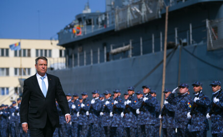 Mesajul lui Iohannis după cel mai mare exerciţiu NATO în Marea Neagră. Ce le-a transmis militarilor