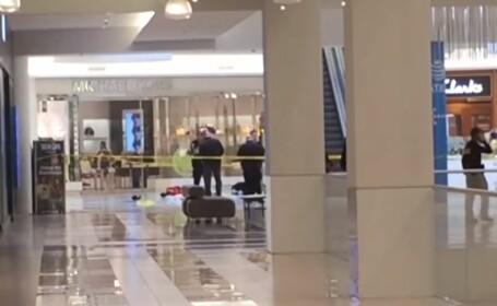 Copil de 5 ani, aruncat de la etajul 3 al unui mall. Ce a strigat mama. VIDEO