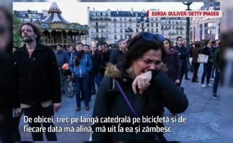 """Franța vorbește despre """"Notre Drame"""": """"Vor trece decenii până când urmările vor fi şterse\"""