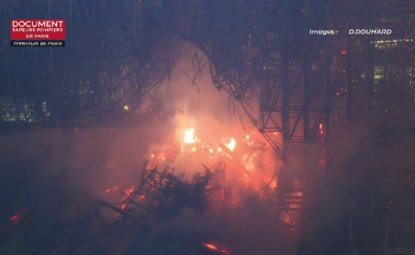 Incendiu la catedrala Notre Dame. Prima ipoteză luată în calcul pentru cauzele dezastrului