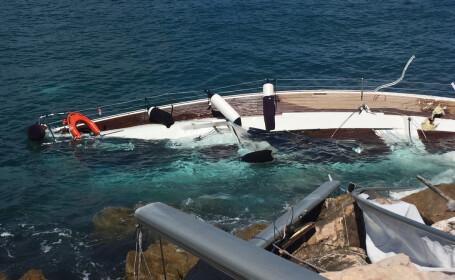 Barca scufundata