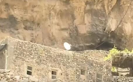 Povestea unui sat sculptat în stâncă
