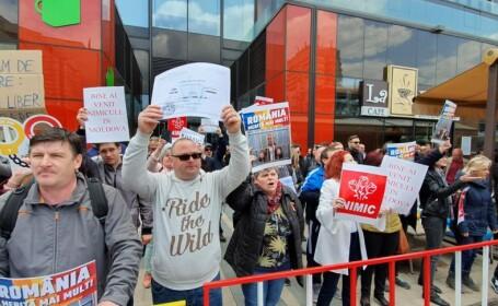 Protest PSD Iasi