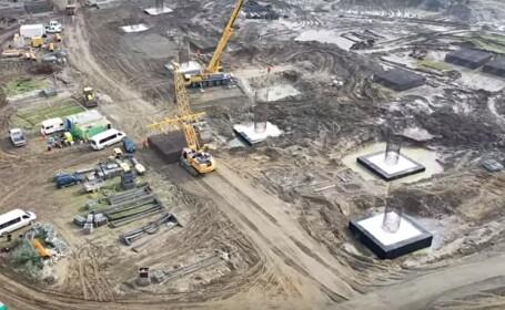 Centura Bacăului, filmată cu drona. Când ar putea fi gata lucrările. VIDEO