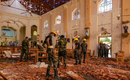"""Atacurile din Sri Lanka. Ministru: """"Am fost avertizați cu 14 zile înainte"""""""