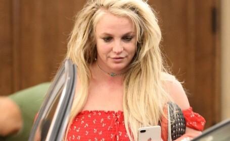 Primele imagini cu Britney Spears de când s-a internat într-o clinică de psihiatrie