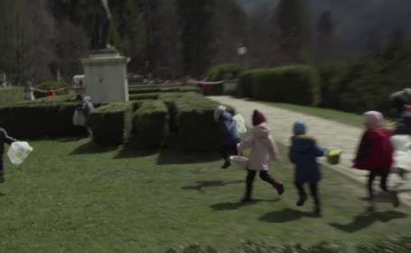 Vânătoare de ouă de Paşte la Castelul Peleș