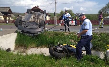 Accident mortal la Stalpeni, Argeș