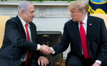 """NYT, despre caricatura antisemită cu Netanyahu şi Trump: """"Este o eroare de judecată"""". FOTO"""