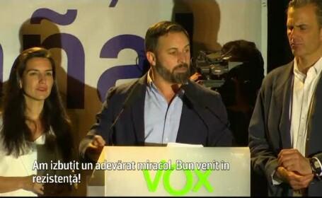 lider Vox Spania