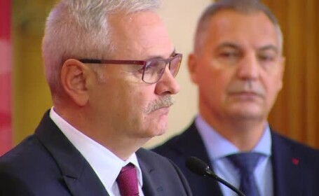 Liviu Dragnea și Mircea Draghici
