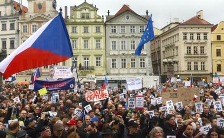 Protest Cehia
