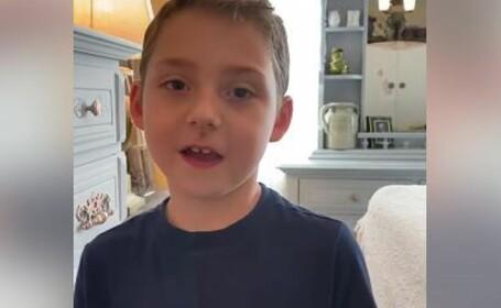 """Copilul de 6 ani care a învins Covid-19, deși suferă de o boală gravă. """"Sunt un luptător!"""""""