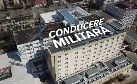 Spitalul Județean Deva, sub comandă militară. Ofițeri din Galați pun ordine în haosul lăsat de fosta conducere
