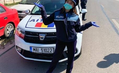 Reacția gimnastei Larisei Iordache, jignită după o fotografie în uniforma de poliţie și un apel către români