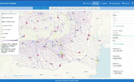 Harta spitalelor din linia întâi în lupta cu Covid-19. România, locul 4 în Europa la numărul de paturi de terapie intensivă