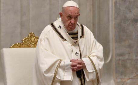 """Papa Francisc cere anularea datoriilor țărilor sărace și vorbește despre o """"epidemie a speranței"""""""