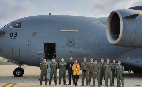 Aproximativ 45 tone de echipamente din Coreea de Sud, împotriva Covid-19, ajung în România