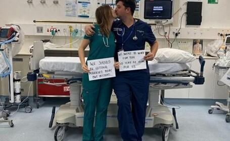 ziua nuntii la spital