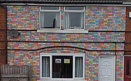 casa colorata anglia